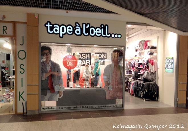 trouver un magasin Tape à l'oeuil