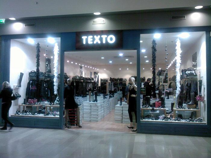 trouver un magasin Texto