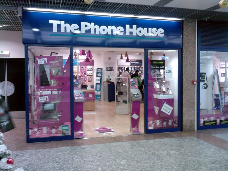 les magasins the phone house en france. Black Bedroom Furniture Sets. Home Design Ideas