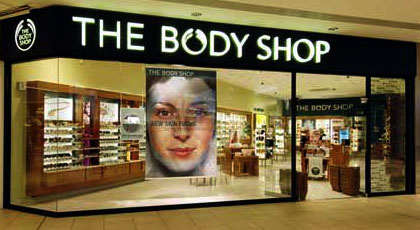 trouver un magasin The Body Shop