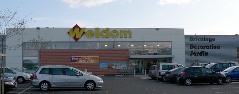 Les magasins et promos Weldom