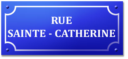 la rue Sainte Catherine de Bordeaux