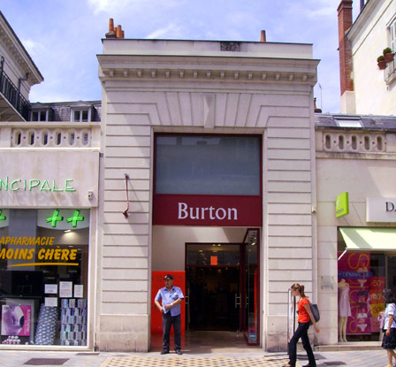 Trouver un magasin Burton